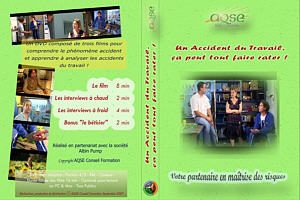 jaquette du DVD analyse des accidents du travail